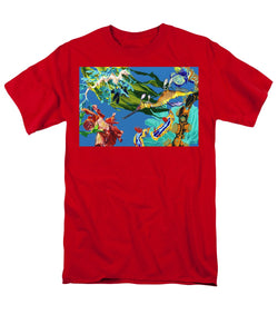 Seadragon's Surpise  - Men's T-Shirt  (Regular Fit)
