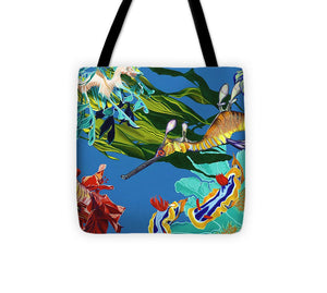 Seadragon's Surpise  - Tote Bag