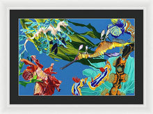 Load image into Gallery viewer, Seadragon's Surpise  - Framed Print