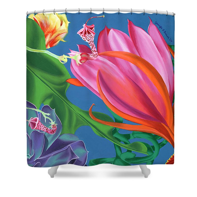 Sonoran Swing  - Shower Curtain