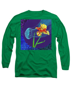 Tulip and Jellyfish Embrace  - Long Sleeve T-Shirt