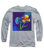 Load image into Gallery viewer, Tulip and Jellyfish Embrace  - Long Sleeve T-Shirt