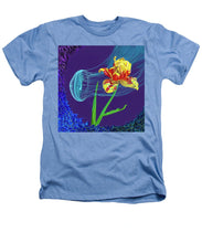 Load image into Gallery viewer, Tulip and Jellyfish Embrace  - Heathers T-Shirt