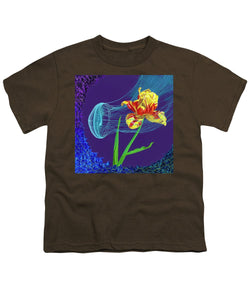 Tulip and Jellyfish Embrace  - Youth T-Shirt