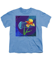 Load image into Gallery viewer, Tulip and Jellyfish Embrace  - Youth T-Shirt