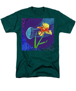 Tulip and Jellyfish Embrace  - Men's T-Shirt  (Regular Fit)
