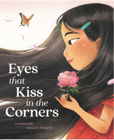 Eyes that kiss the corners