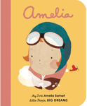 Little People, Big Dreams: Amelia Earheart (Boardbook)