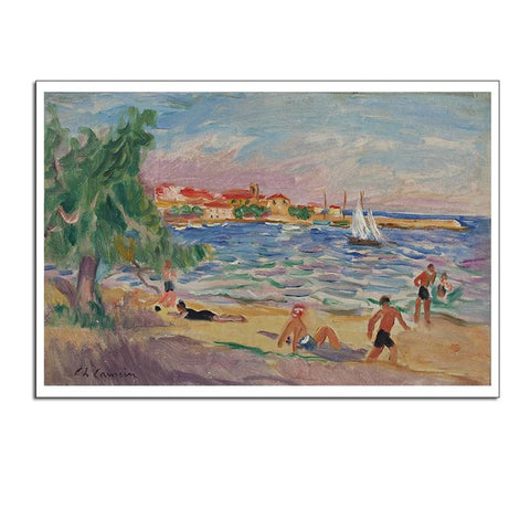1000 Piece PUZZLE Oil Painting By The Sea Jigsaw PuzzleBest Gifts for Children and Adult