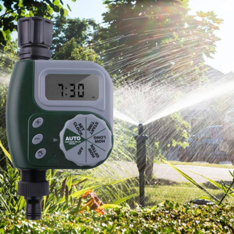 irrigation system intelligent automatic garden watering timer kit