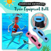 Exercise Swimming Train Equipment Belt , 2 Water Aerobics Swimming Weights Aquatic Cuffs