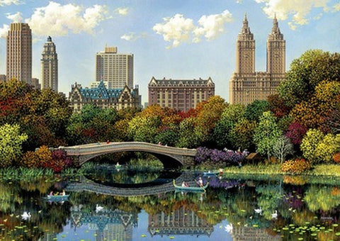 Jigsaw Puzzle New York Central Park 1000 Piece Puzzle