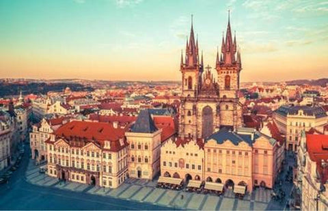 1000 Piece Puzzle Beautiful Scenery Prague Castle Jigsaw Puzzle