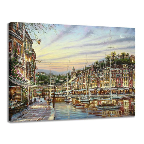 PUZZLE  Cape harbor1000 piece puzzle FUN TOYS brain development toys