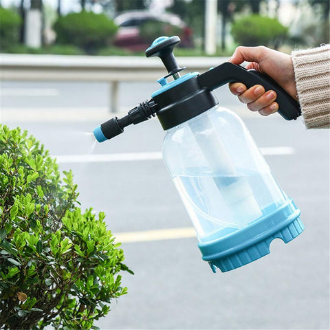 2L Gardening Pressure Water Spray Bottle Portable Garden Irrigation
