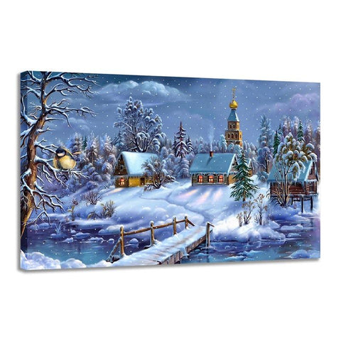 1000 Piece Puzzle Christmas Evening Jigsaw Puzzle Best Gifts for Children and Adult