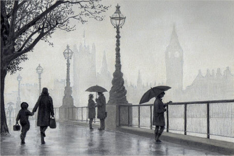 1000 Piece London Rainy Night  Super Beautiful Puzzles Challenging