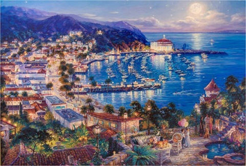 1000 Piece Puzzle Gulf Town Jigsaw Puzzle