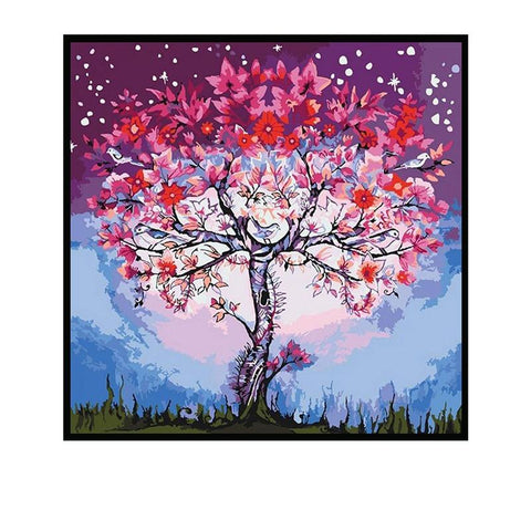 1000 Piece Puzzle  Ukrainian Tree Oil Painting JIGSAW PUZZLE Best Gifts for Children and Adult