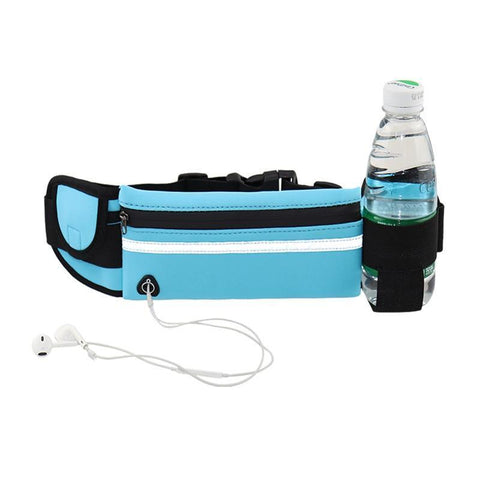 Waterproof Running Waist belt Bag with Pouch for phone