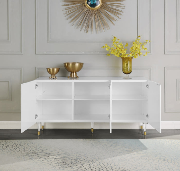 Starburst Sideboard/Buffet White