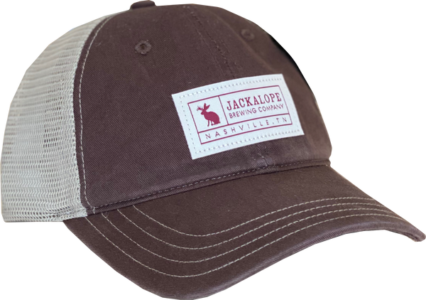 Brown Patch Hat