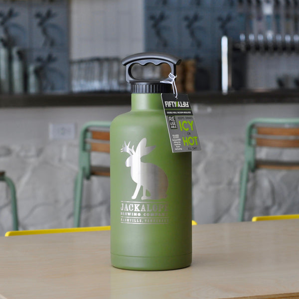 64oz Stainless Steel Growler