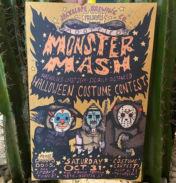 Modified Monster Mash Poster