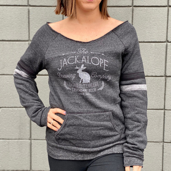 Ladies Scoop Neck Sweatshirt
