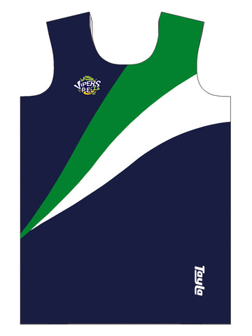 Boys Vest - Vipers Navy
