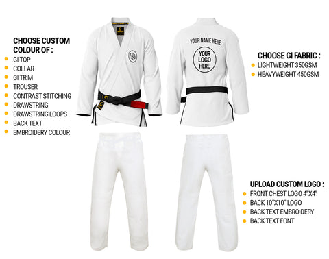 Design your BJJ Gi