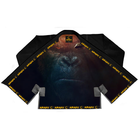 GORILLA WARRIOR SUBLIMATION BRAZILIAN JIU JITSU GI ( BJJ GI ) - Araku Sports