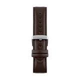 Brown leather watch strap Geneva by Deveron Lewendal brand from Sweden