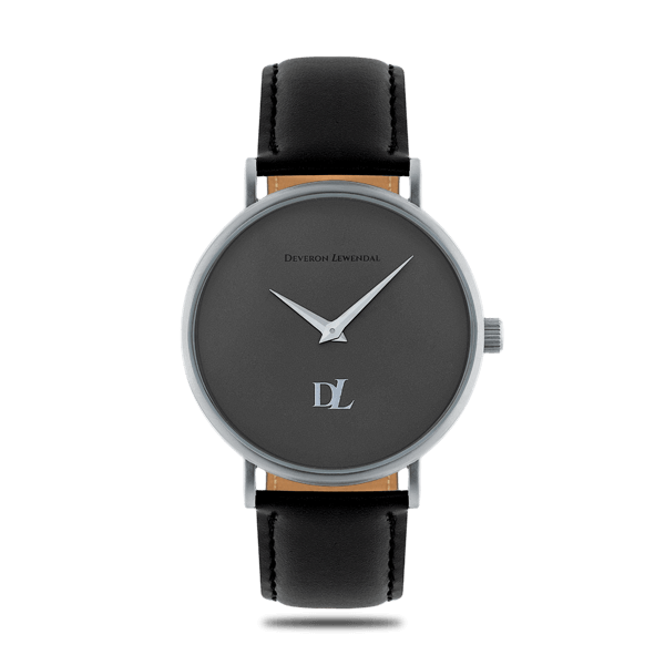 Minimalist watches Prime Gray 44 mm by Deveron Lewendal