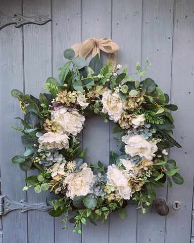 New Beginnings Floral Wreath
