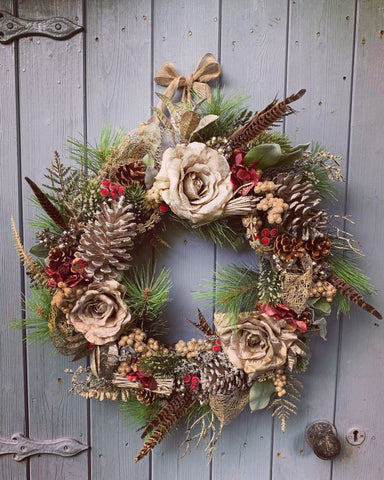 Enchanted Forest Floral Wreath