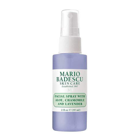 Facial Spray with Aloe, Chamomile and Lavender 59mL