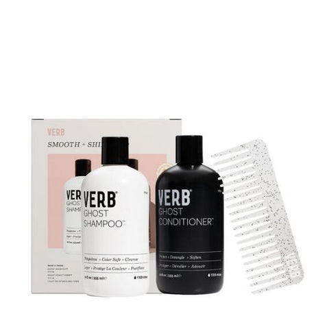 Verb Shine + Smooth Ghost Shampoo & Conditioner Duo