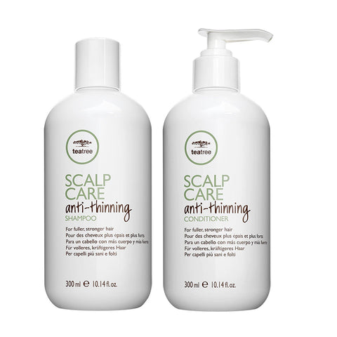 Paul Mitchell Scalp Care Anti-Thinning Organic Duo (2 x 300ml) shampoo & Conditioner
