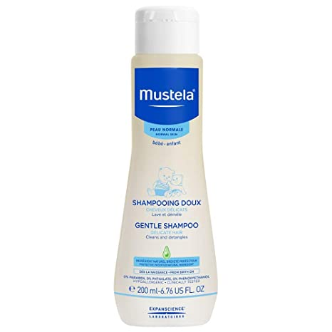 Mustela Baby Gentle Shampoo, For Delicate Hair (200ml)