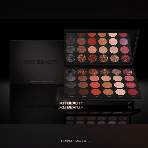 Tati Beauty Textured Neutrals Vol 1