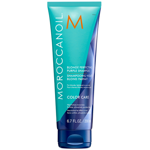 MOROCCANOIL Mini Blonde Perfecting Purple Shampoo