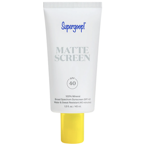 SUPERGOOP! Mattescreen Sunscreen SPF 40 (45mL)