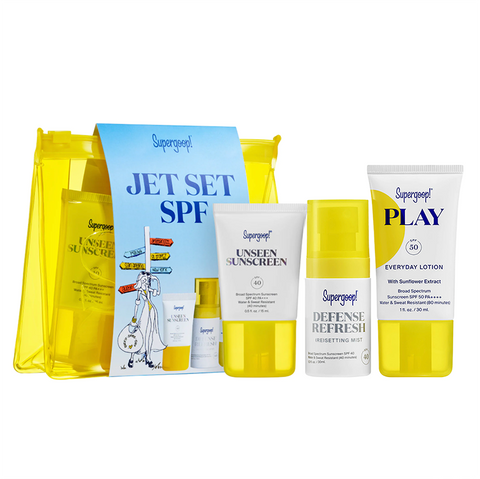 SUPERGOOP! Jet Set SPF Travel Kit