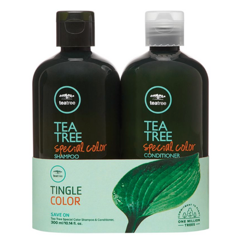 Paul Mitchell Tea Tree Special Color Shampoo (10.14oz) & Conditoner (10.14 oz) Set