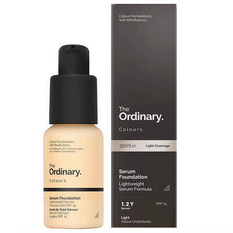 The Ordinary Serum Foundation - 1.2YG Light