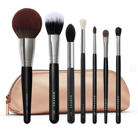 Morphe | Ready For Anything Face & Eye Brush Set