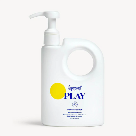 Supergoop! PLAY Everyday Lotion SPF 50 with Sunflower Extract ( 18oz / 532 mL)