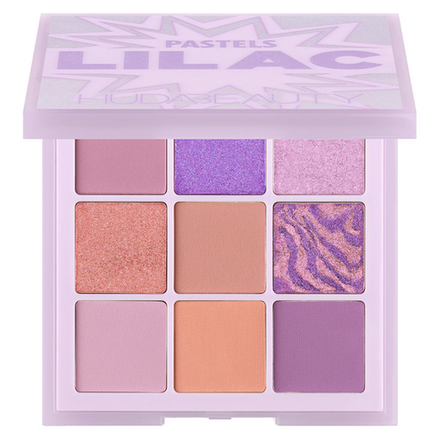 HUDA BEAUTY Pastel Obsessions Eyeshadow Palette - lilac