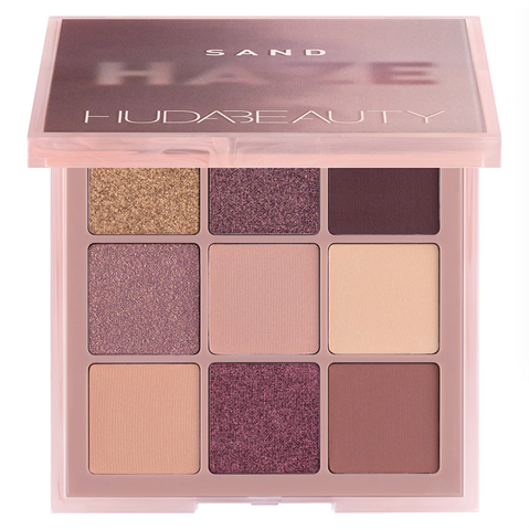 HUDA BEAUTY Haze Obsessions Eyeshadow Palette - Sand Haze Obsessions